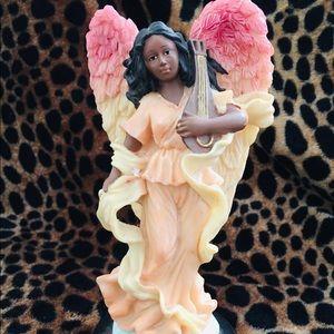 Beautiful Vintage Angelic Angel Violinist Figurine